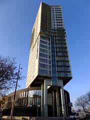Time to check in... (stevenbrandist) Tags: building netherlands hotel rotterdam explore tall bestwestern arthotelrotterdam