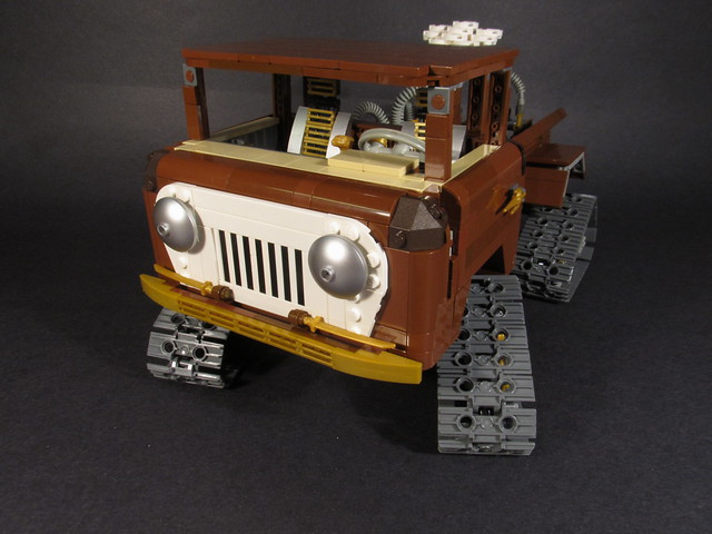 truck lego jeep steampunk fc150 forwardcontrol fc170
