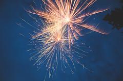 Fireworks I (wenzday01) Tags: longexposure home nikon fireworks bluehour nikkor independenceday d7000 nikond7000 18105mmf3556gedafsvrdx