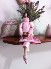 tilda moranguinho (Solange Gil (Panos e Paninhos)) Tags: doll dolls tilda bonecadepano tildas