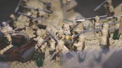 Hijacking. (Andy @ Pang Ket Vui ( shootx2 )) Tags: starwars sand desert lego tusken speeder tatooine hijacking