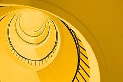 lemon fragrance (Fotoristin - blick.kontakt) Tags: abstract lines yellow architecture stairs staircase fotoristin lemonfragance
