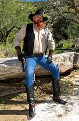 Redbeard Cowboy (BOOTBEARTEX) Tags: musclebear hairy leather daddy beard spurs rebel athletic model cowboy boots muscle trucker muscular top badass cigar rope smoking deputy master gloves pistol western redbeard actor strong guns mean tall sheriff redneck rough sir reds macho tough bigbeard holster snuff noose outlaw gunslinger dominant roleplay oldwest forhire texascowboy marlborocowboy cowboyreenactor handsomecowboy dipcanring marboroman cowboywristcuffs cigarsmokingcowboy gunslingerboots redneckcowboy copelongcut roughcowboy chweingtobacco