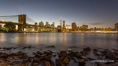 Brooklyn Bridge desde Main Street Park - II - New York (www.capturaviaje.com) Tags: nyc newyork brooklyn canon atardecer manhattan lee brooklynbridge lowermanhattan estadosunidos nuevayork grimaldi eeuu polarizador ef1740mmf4lusm mainstreetpark puentebrooklyn 5dmarkiii filtroslee dgrimaldi 5dmiii davidgrimaldi
