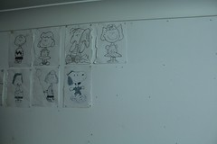 A few old drawings. (Peterpixels) Tags: scrapbook university peanuts snoopy uni charliebrown charlesschulz marcie peppermintpatty bluetac goodgrief charlesmschulz sallybrown lucyvanpelt linusvanpelt thepeanuts linusandlucy