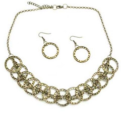 5th Avenue Brass Necklace P2441A-3