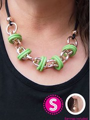 Glimpse of Malibu Green Necklace K1A P2810A-1..