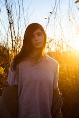 Sunset (mr.martino) Tags: sunset love girl beautiful beauty model warm pure