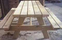 Mesa pino picnic 2200x780x48mm