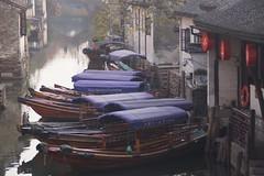 Romantic... (Sergei P. Zubkov) Tags: china november 中国 zhouzhuang 2012 周庄镇