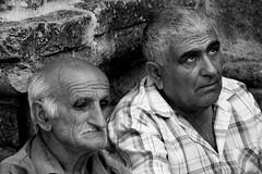 due (enrico sprea) Tags: blackandwhite monocromo persone occhi armenia teste due gosh biancoenero monastero facce uomini visi allaperto armeni asiaminore goshavank  tavush pentaxlife bwartaward   hayastanihanrapetutyun caucasomeridionale norgetik ayastani