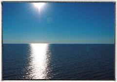 At sea of burning light (BigWhitePelican) Tags: light sea sky sun finland may gulfoffinland 2016 canoneos7d adobelightroom4