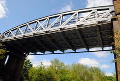 Piccadilly Line in the sky (zawtowers) Tags: bridge boston walking canal spring day arch afternoon walk exploring union capital tube over may saturday 7 railway piccadilly grand line ring 14th manor stroll section carry osterley amble 2016 richmondtoosterleylock