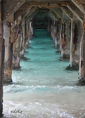 Caribbean Pier *Explore* (Rdoke) Tags: pier saintmartin caribbean grandcase