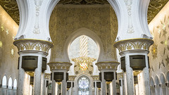 Hall (Bartholomew K Poonsiri) Tags: white building islam religion uae middleeast wideangle mosque structure abudhabi sheikhzayedgrandmosque sonyepz1650mmf3556oss sonyilce6000