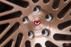 Vossen Forged- LC Series LC-105T - Champagne - 41761  - © Vossen Wheels 2016 - 1003 (VossenWheels) Tags: wheels lc forged polished madeinusa brushed vossen forgedwheels lcseries vossenforgedwheels lc105t ©vossenwheels2016 madeismiami