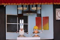 MX CS TEATRO ROBTICO (jorgealvaradogalicia) Tags: mexico teatro robot ciudad electricidad obra cultura medioambiente cfe milpaalta cdmx