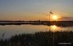 Another day is ending (Mwap38) Tags: sunset sea seascape reflection nature water waterfront straw sunny naturephotography mirrorlike naturemasterclass