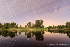 Startrails Alambra dum (stavros karamanis Photography) Tags: longexposure nightphotography sky lake reflection tree water skyline night canon landscape outdoor ngc tokina nightsky f28 startrails lakeforest t3i lakescapes canonphotography canonusers skylovers 1116mm dxii