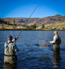 WCA - Deschutes River Fly Fishing (WorldCast Anglers) Tags: camping oregon deschutes steelhead spey wca destinationtravel worldcastanglers