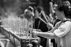 Praying To A God (Anna Kwa) Tags: hongkong words nikon worship shrine heart praying soul d750 always kowloon taoist prayers offerings wongtaisintemple incensesticks my kaucim   annakwa greatimmortalwong prayingtoagod afsnikkor70200mmf28ge