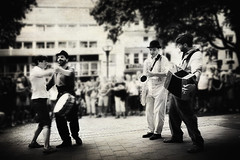 176 (dijopic) Tags: street bw music public fun person dance mood view drum sony atmosphere accordion saxophone creativ dijopic