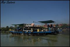 Ferry (Mar Santorio) Tags: ferry d50 nikon vietnam hoian saigon