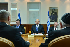PM Netanyahu Attends Cabinet meeting (Prime Minister of Israel) Tags: israel jerusalem isr