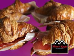 Croissants con jamn ibrico Monte Regio (Monte Regio) Tags: ham monte jamn regio ibrico
