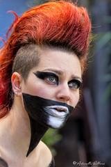 la dea (balboni.antonella) Tags: volti persone people ritratti ritratto carnevale traverstimento maschera trucco ragazza