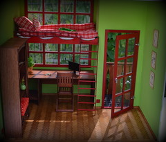 Dollhouse (pe.kalina) Tags: miniature doll furniture poppy blythe 16 parker diorama dollhouse momoko roombox