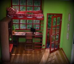 Dollhouse (pe.kalina) Tags: miniature doll furniture poppy blythe 16 parker diorama dollhouse momoko roombox