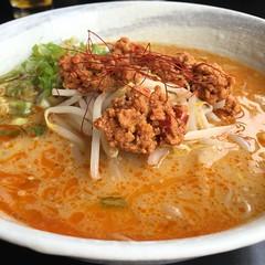 Spicy miso ramen.