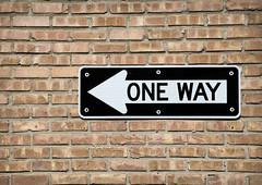 One Way (Photato Jonez) Tags: white black alex way one nikon day michigan lansing east midday d3300