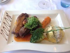 Ribs, baked potato and vegetables (Creusaz) Tags: ribs baked potato vegetables