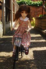 Thoughts and ideas (Little little mouse) Tags: dollstown ganga megan dt7 bjd dollfie bikefromtkmaxx homemadedress