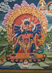 Chakrasamvara Tantra wall painting, Hemis (mindweld) Tags: monastery wallpainting himalayas ladakh hemis tantric chakrasamvara