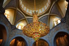 Zayed Mosque, Abu Dhabi (Rod Waddington) Tags: architecture interior islam mosque east zayed middle abu dhabi sheik islamic