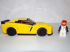 LEGO Chevrolet Corvette Z06 (Pest15) Tags: lego chevroletcorvette legochevroletcorvettez06
