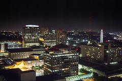 Sheraton Hotel - Kansas City Skyline (ChrisM70) Tags: skyline night lights hotel view kansascity missouri sheraton crowncenter