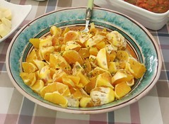 Summer Colours - Oranges and Crushed Pistacchios (Pushapoze - getting better) Tags: italia italy sicilia marsala mothiaisland picnic oranges arance