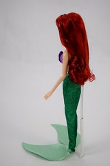 2016 Ariel Classic 12'' Doll - US Disney Store Purchase - Deboxed - Standing - Full Right Rear View (drj1828) Tags: disneystore doll 12inch classicprincessdollcollection 2016 ariel purchase deboxed standing
