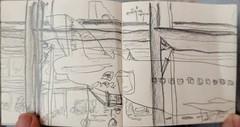 Greetings from London Heathrow (raumoberbayern) Tags: london pencil sketch drawing heathrow sketchbook bleistift robbbilder