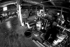 IMG_4524.JPG (Jamie Smed) Tags: iphoneedit handyphoto jamiesmed app snapseed rokinon september lens fisheye prime fixed wide angle focus 2014 hdr blackwhite bw blackandwhite manual canon eos dslr 500d t1i rebel photography warehouse geotag geotagged industrial