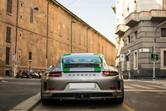 Spotted my first 911 R, very cool (David Clemente Photography) Tags: porsche porsche911r porsche991 porsche991r 911 911r supercars germancars germansupercars gt3rs rennsport 991 porsche911 milan