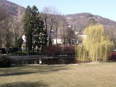 Gardens, Schloss Eggenberg, Graz, Austria (Norbert Bnhidi) Tags: austria graz eggenberg lake pond sterreich autriche ustria oostenrijk  ausztria styria steiermark estiria styrie stiria estria stiermarken  stjerorszg