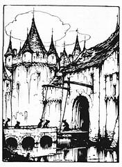 Ons eigen Tijdschrift 1929,  Anton Pieck verhaal ill  b (janwillemsen) Tags: 1929 antonpieck magazineillustration