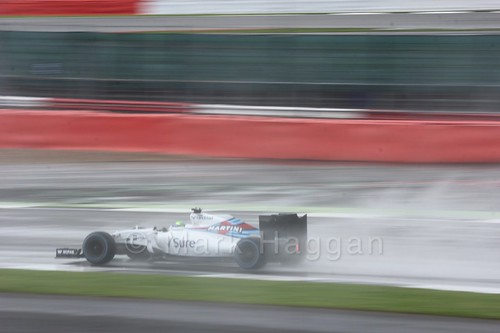 Felipe Massa in his Williams during the 2016 British Grand Prix