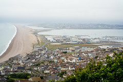 Chesil Beach from Portland (garryknight) Tags: csc chesilbeach dorset lightroom london nx2000 on1photo10 ononephoto10 photoshopelements portland samsung island landscape panorama