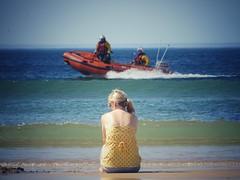 (Bessy Bumblebee) Tags: rnli portrush beach summer summertime